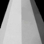 Пирамида  восьмигранная